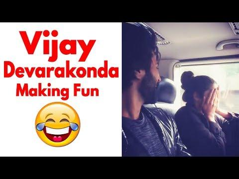 Vijay Devarakonda Making Fun with Actress Izabelle Leite | Latest Video | Daily Culture Mp3