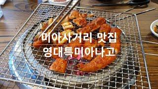 미아사거리맛집 양념 아나고가 맛있는 영대특미아나고 서울…