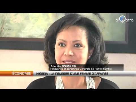 NIGERIA : Succès d'une femme d'affaire dans le textile.