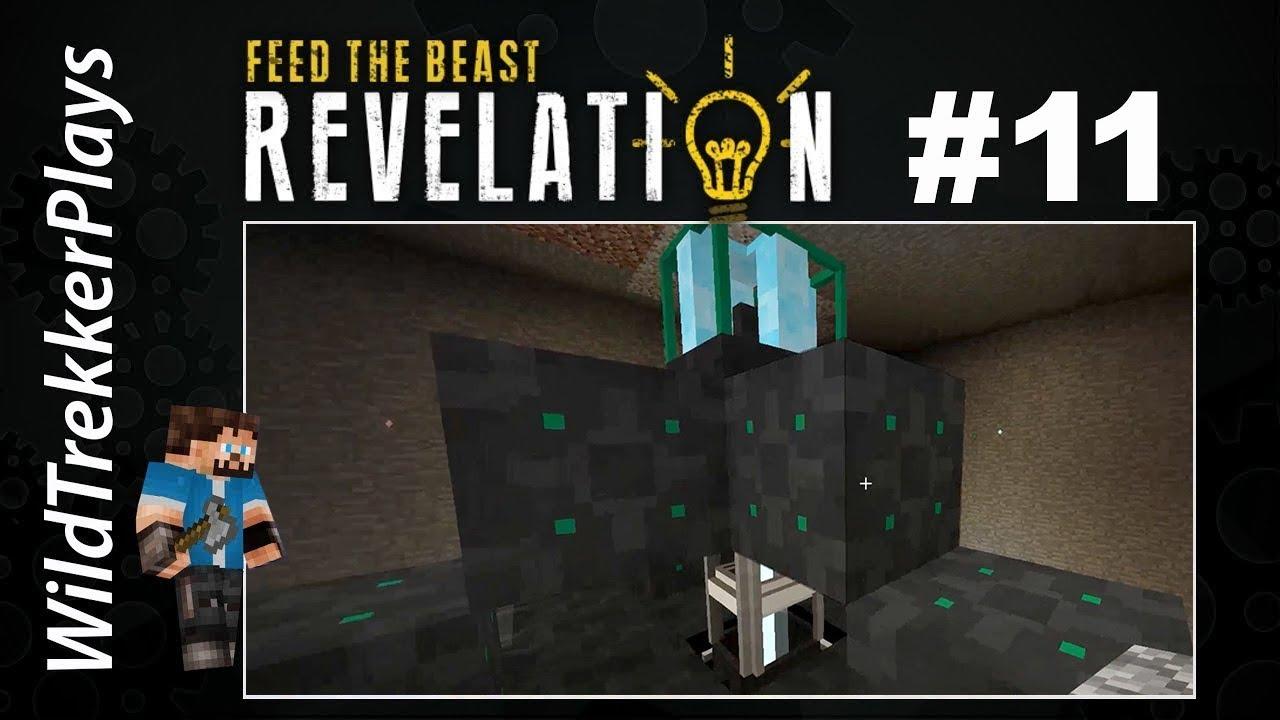 FTB Revelation - Ep11 - Void Ore Mining (Modded Minecraft 1 12 2)