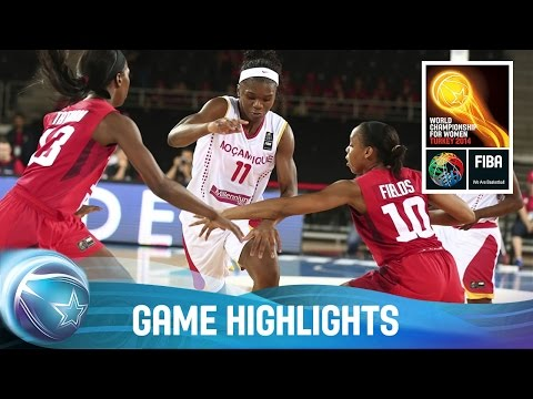 Mozambique v Canada - Game Highlights - Group B - 2014 FIBA Basketball World Championship for Women