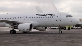 Philippines Airlines First Manila to Auckland Flight Arrival 2015
