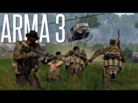 30 MINUTES OF SURVIVNG THE NEW VIETNAM DLC  ArmA 3 S.O.G. Prairie Fire DLC