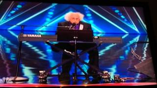 84 year old man sings an amazing song on Americas got Talent!!