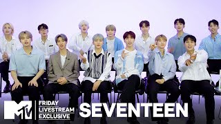 """SEVENTEEN on New Mini Album """"Your Choice"""" & Their Experiences With Love   MTV"""
