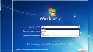 how to install windows 7 full tutorial hd