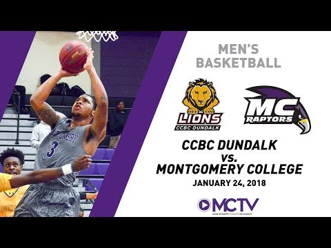 MC Raptors Men's Basketball vs. CCBC Dundalk, 1/24/2018