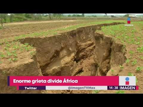 ¿Sabes que en África se está dividiendo por una gran grieta? | Noticias con Yuriria Sierra