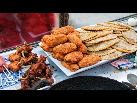 Nepali Street Food - DEEP FRIED Snacks in Kathmandu, Nepal!
