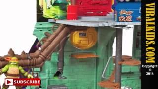 Teenage Mutant Ninja Turtles - Secret Sewer Lair Playset- Review