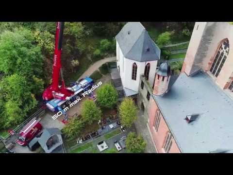 An der Spitze der Hochgotik - ATF 220G-5 für Arbeiten an bedeutendem Kirchturm eingesetzt