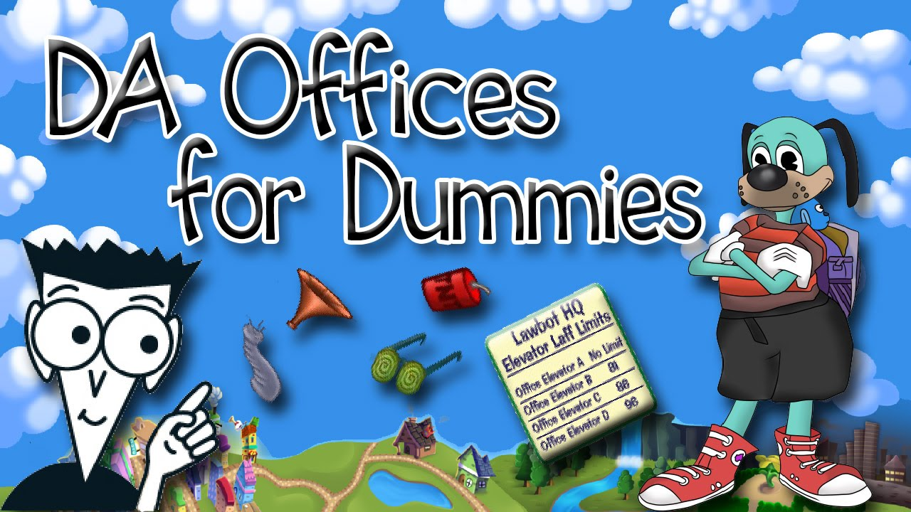 Lawbot Da Offices For Dummies Toontown Rewritten Tips And Tricks You