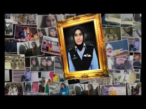 Rare Footage of First Female Shaheed Pilot of Paf released mp4