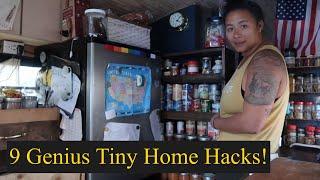 9 Genius Tiny Home Hacks