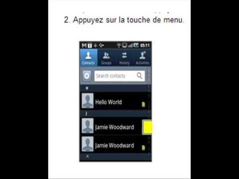 comment mettre ses contacts sur carte sim samsung Comment copier des contacts du téléphone sur la carte SIM ?   YouTube
