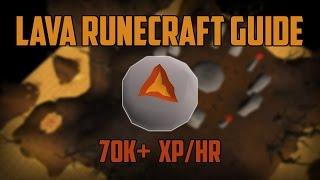 Efficient Lava Runecrafting Guide - 70k+ xp/hr