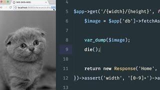 Build a Placekitten clone with Silex: Grabbing a random image (3/6)