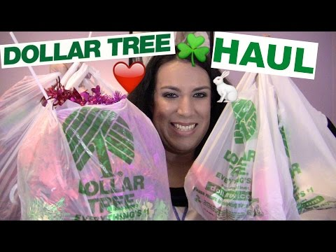 DOLLAR TREE HAUL 2016 - VALENTINE'S DAY, ST. PATRICK'S DAY, EASTER | MIKAYLA