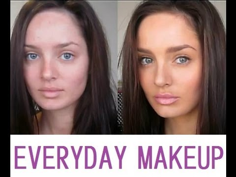 Makeup Tutorial: Every Day Makeup Routine (Winter)