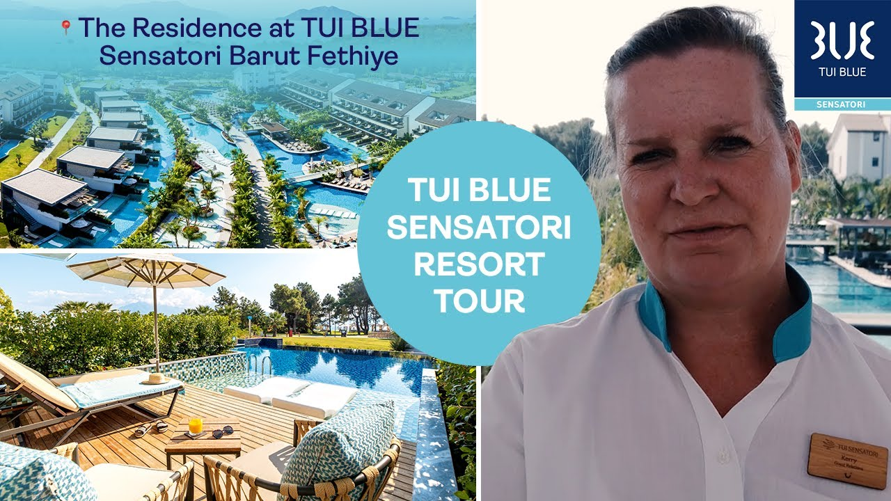 The Residence At Tui Sensatori Barut Fethiye Resort Tour Youtube