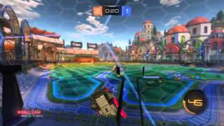 Rocket league Deloean gameplay