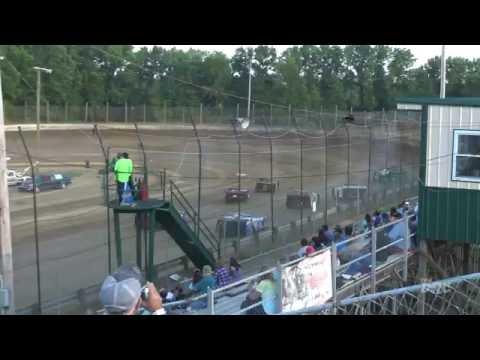 Moler Raceway Park   6.10.16   Late Models   Heat 2