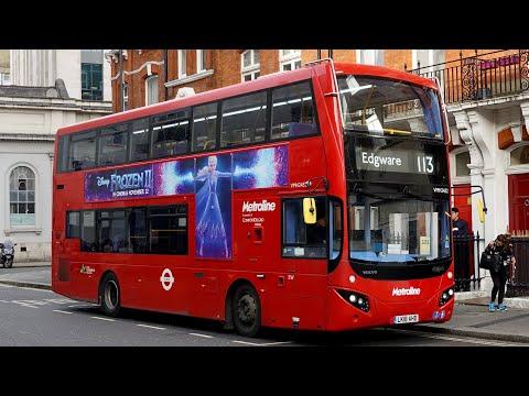 Download  London Buses - Route 113 - Oxford Circus to Edgware Station Gratis, download lagu terbaru