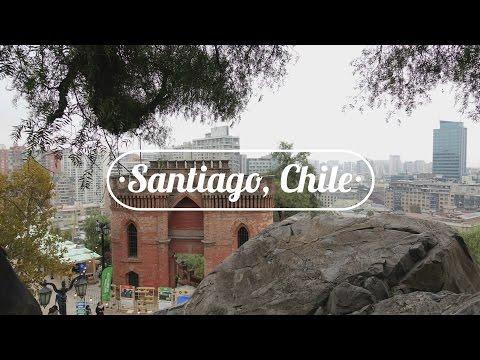 SANTIAGO, CHILE: City tour & Cerro Santa Lucia