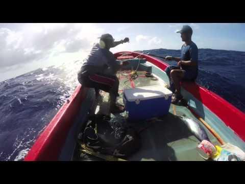 Fishing For The Canoe House - Yap, FSM