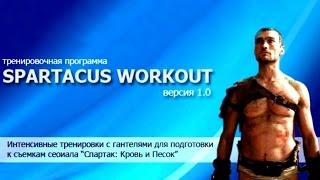 Тренировка гладиатора / Liam McIntyre. The Gladiator training