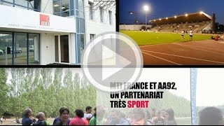 MTI France et AA92, un partenariat très sport !