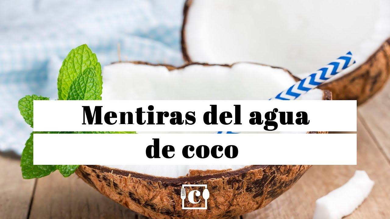 valor nutricional del coco natural