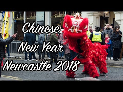 Chinese New Year - Newcastle 2018 - Year Of The Dog