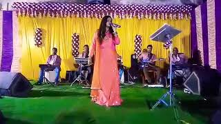 """""""BAHON MAIN CHALE AOO"""" live performance by #BARSHA#with Sradhanjali musical group🎼🎶"""