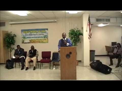 Prayer Still Works/Bishop Gerald Banks.Sr (Bible Church of God West Palm Beach)
