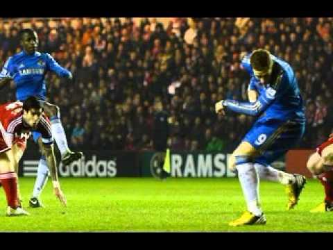 Chelsea 2 x 0 Middlesbrough pela Copa da Inglaterra  27.02.2013