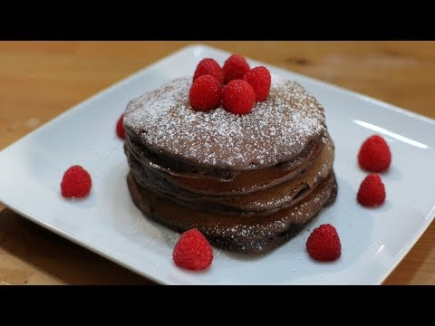 how-to-make-chocolate-pancakes-|-easy-homemade-chocolate-pancake-recipe