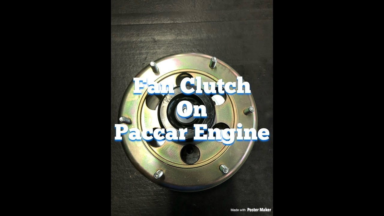DIY Fan Clutch Replacement On A Paccar Engine  A Step By Step Guide, How To  Remove and Replace It