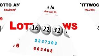 Lotto 6aus49 aktuell: Lottozahlen vom Mittwoch 23.03.2016