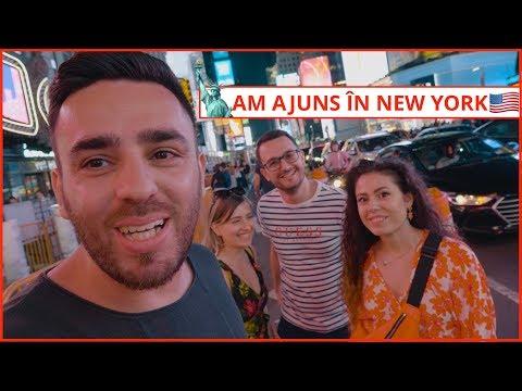 Am ajuns în New York! (Burgeri & Primele Impresii) | Daily Vlog