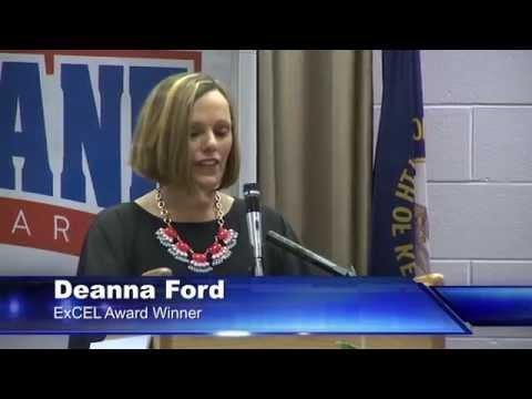 ExCEL Award - Deanna Ford, Cochrane Elementary School