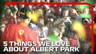 5 Things We Love About Albert Park | 2020 Australian Grand Prix