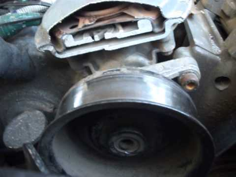 Ford 7 3sel Vacuum Pump Removal Part 1