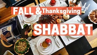SHABBAT DINNER - FALL THEMED & KOSHER THANKSGIVING