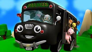 колеса на автобусе пойти кругом   Дети потешки   Wheels on the Bus   Preschool Songs And Rhymes