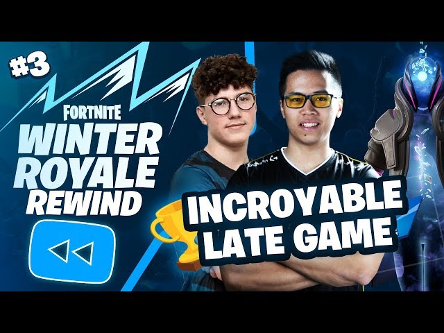 INCROYABLE VICTORY ROYALE 🏆 ► Winter Royale Kinstaar x Nayte