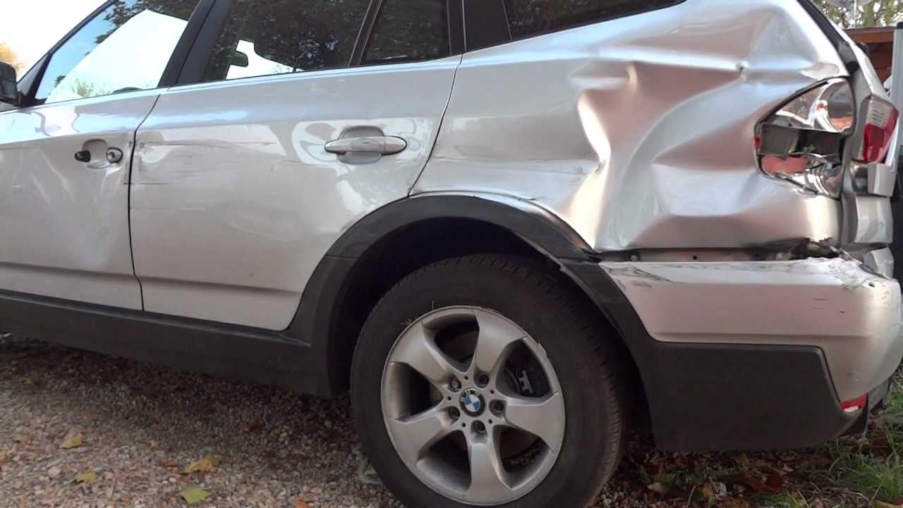 Bmw X3 Crash Unfall Totalschaden Accident Crashed Frontal X5 X6 M Suv Youtube