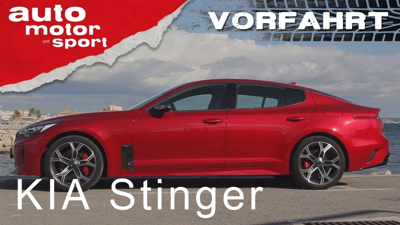 Kia Stinger: Angriff auf Audi und BMW! - Vorfahrt | auto motor und ...