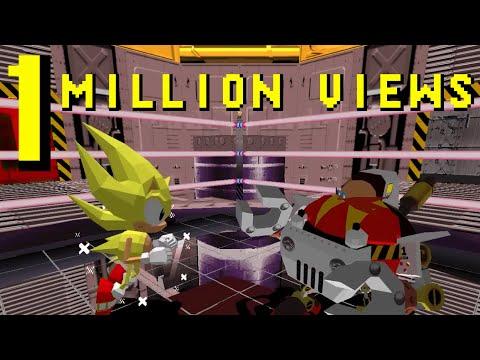 Sonic The Fighters In 5'09''42 (SGC) SUPER SONIC [1080p] [TAS]