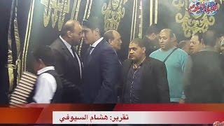 أخبار اليوم   أحمد أبو هشيمة يقدم واجب العزاء في والد خالد سليم